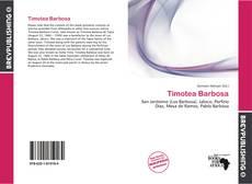 Capa do livro de Timotea Barbosa