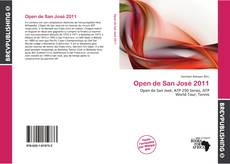 Capa do livro de Open de San José 2011