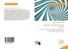 Capa do livro de Paula Teixeira da Cruz