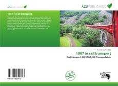 Capa do livro de 1967 in rail transport