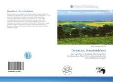 Copertina di Downton, Herefordshire