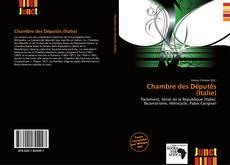 Bookcover of Chambre des Députés (Italie)