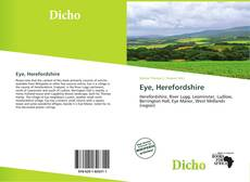 Bookcover of Eye, Herefordshire
