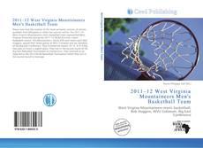2011–12 West Virginia Mountaineers Men's Basketball Team kitap kapağı