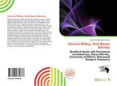 Capa do livro de Vernon Willey, 2nd Baron Barnby