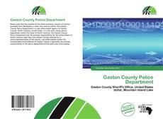Gaston County Police Department kitap kapağı