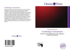 Обложка Cambridge Consultants