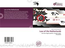 Обложка Law of the Netherlands