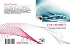 Bookcover of Crump, Tennessee