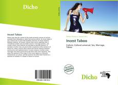 Bookcover of Incest Taboo