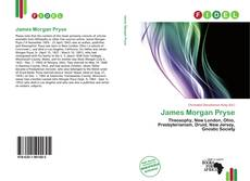 Обложка James Morgan Pryse