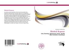 Bookcover of Shahid Kapoor