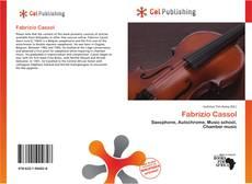 Bookcover of Fabrizio Cassol