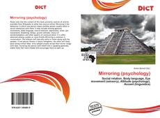 Bookcover of Mirroring (psychology)