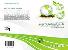 Bookcover of Murray's System of Needs