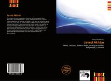 Bookcover of Javed Akhtar