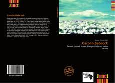 Carolin Babcock kitap kapağı