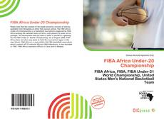 Bookcover of FIBA Africa Under-20 Championship