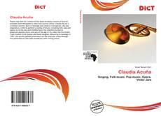 Buchcover von Claudia Acuña