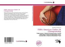 Capa do livro de FIBA Americas Under-16 Championship