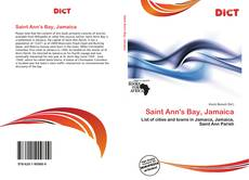 Bookcover of Saint Ann's Bay, Jamaica