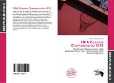 Capa do livro de FIBA Oceania Championship 1975