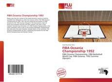 Capa do livro de FIBA Oceania Championship 1992