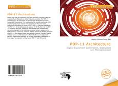 Bookcover of PDP-11 Architecture