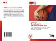 FIBA Oceania Championship 2005的封面