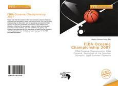 Capa do livro de FIBA Oceania Championship 2007