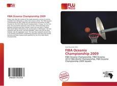 FIBA Oceania Championship 2009的封面