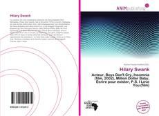 Capa do livro de Hilary Swank
