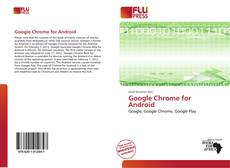 Capa do livro de Google Chrome for Android