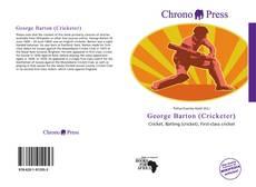 Portada del libro de George Barton (Cricketer)