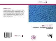 Bookcover of Eleanor Goss