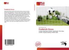 Frederick Gross kitap kapağı