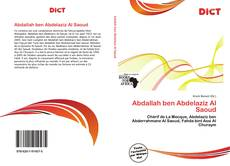 Abdallah ben Abdelaziz Al Saoud的封面
