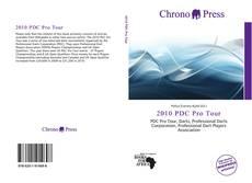 Capa do livro de 2010 PDC Pro Tour