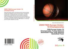 Bookcover of 2009 FIBA Europe Under-16 Championship