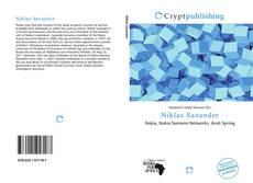 Niklas Savander kitap kapağı
