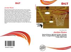 Bookcover of Jordan Rules