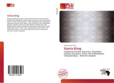 Copertina di Vania King