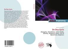 Bookcover of De Dea Syria