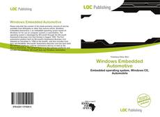 Capa do livro de Windows Embedded Automotive