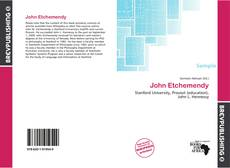 Bookcover of John Etchemendy