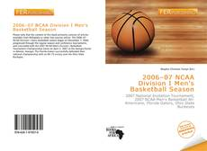 Обложка 2006–07 NCAA Division I Men's Basketball Season