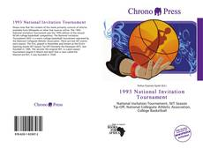 Bookcover of 1993 National Invitation Tournament