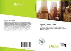 Portada del libro de Lyme, New York
