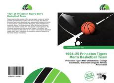 Portada del libro de 1924–25 Princeton Tigers Men's Basketball Team