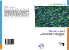 Bookcover of Afshin Peyrovani